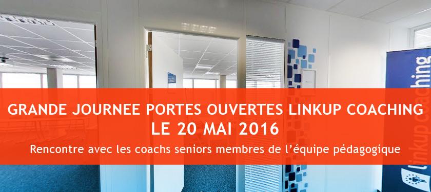 portes ouvertes linkup coaching - 20 mai 2016