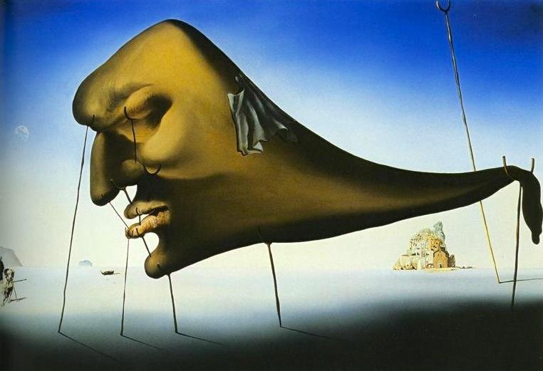 Salvador Dali - Le sommeil