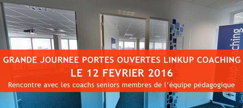 Portes ouvertes le 12 février sur le Campus Linkup Coaching !